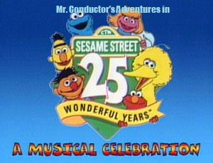 25th sesame street