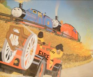Thomas the Tank Engine's Noisy Book - 'Edward's Fire'
