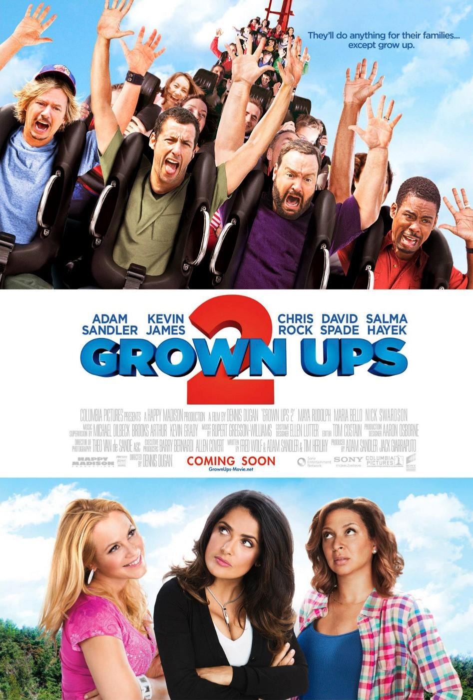 Grown Ups 2 (2013) | Scratchpad | FANDOM powered by Wikia