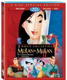 Mulan on Bluray