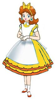 Princess Daisy In Wonderland