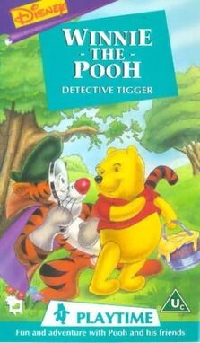 Winnie the Pooh Playtime Detective Tigger 1994 big poster