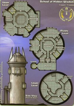 Regulan Earth Force Academy Layout
