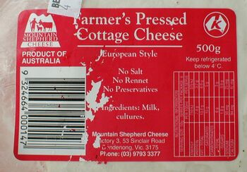 Farmer's Pressed Cottage Cheese