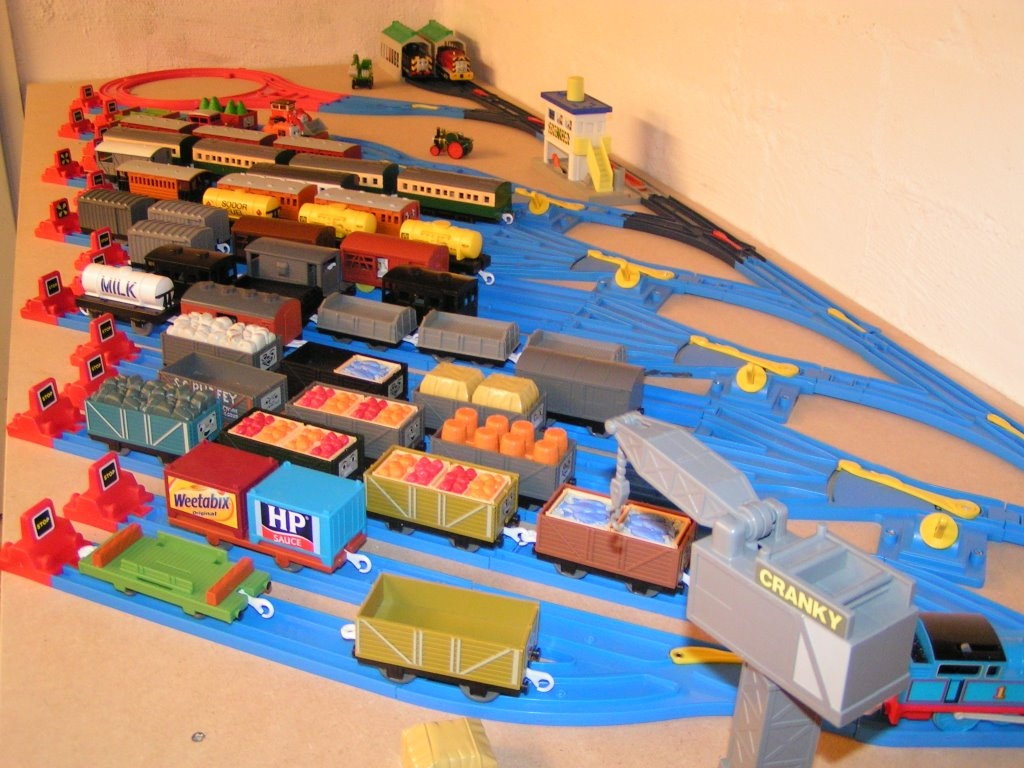 remote control trucks at walmart with Thomas The Tank Engine Thomas Tomy Motorised Toys on Mini Lalaloopsy Sisters Rosy Stumbles Bumps N Bruises besides 47153948 likewise Watch as well 35276369 also Watch.