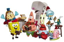 Cartoon-spongebob-excited-cast-poster-GB2455