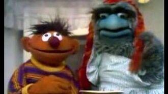 Classic Sesame Street Beautiful Day Monster Steals Bert's Cookies (Full, Rough English Fandub)