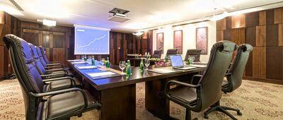 Larsa meeting room at Merwebhotel Central Doha