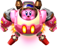 Kirby on Robobot Armor