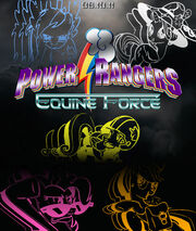 My Little Pony Rangers by AtomicGreymon