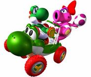 Yoshi&Birdo-MarioKartDoubleDash