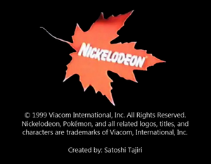 Nickelodeon Logo From Pikachu Party