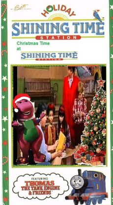 Christmas Time at Shining Time Station VHS 1993
