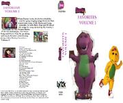 Barney Favorites Vol 1 VHS