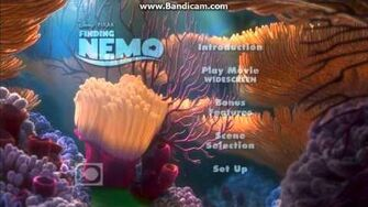 Opening to Finding Nemo 2003 DVD (Disc 1)