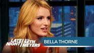 Scream (TV Series) Star Bella Thorne Wasn't Born When the First Scream Came Out - Late Night with Seth Meyer