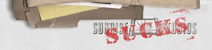Sunrise Sucks logo