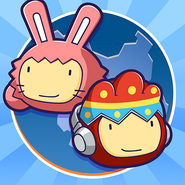 Scribblenauts Unlimited app icon (Easter)