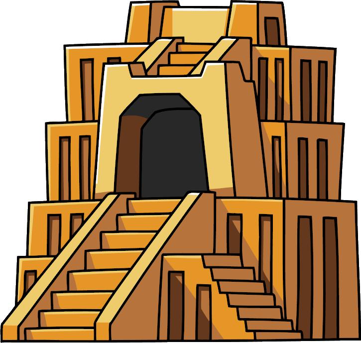 Scribble Drawing Crossword Clue : Ziggurat scribblenauts wiki fandom powered by wikia