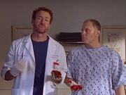 5x20-Dr. Cox, Dave with J.D.'s kidneys
