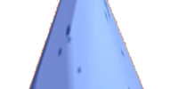 Blue Pointy Hat