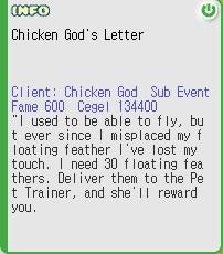 Chicken god letter