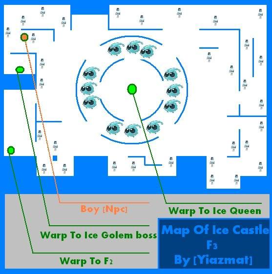 Ice castle seal online wiki fandom powered by wikia for Floor 4 mini boss map