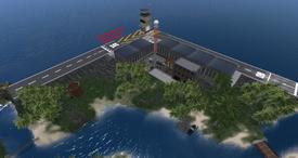 Langanyika Airfield, looking SE (03-15)