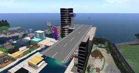 Birdies Skyport, looking NE (02-15)
