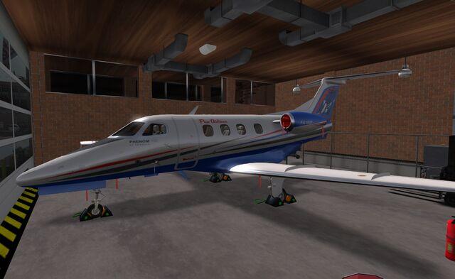 File:Flux Airlines Embraer Phenom 100.jpg