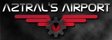 Aztral's Airport Logo