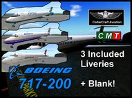 Boeing 717-200 (Coltercraft) default liveries