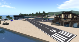 Gaeta Airport Club, looking SE (02-14)