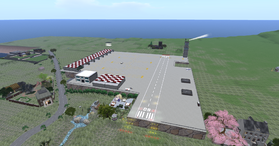 Unity Airport, looking east (02-15)