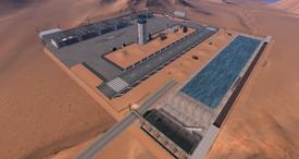 Sunny Fields Airfield, looking SW (02-15)