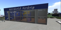 Mid-World Airstrip
