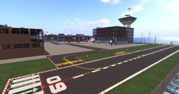 Antilaghi Regional Airport, looking NE (12-13)
