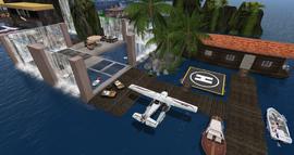 Sleepy Bay Lounge Area, looking SE (11-14)