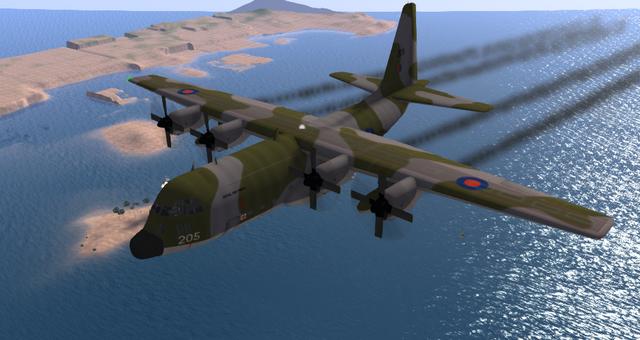 File:Lockheed C-130 Hercules (Fastronnix) 1.png