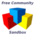 Free Community Sandbox - Logo - 001