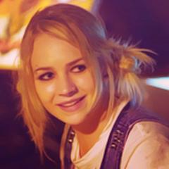 Britt Robertson in the movie <i>
