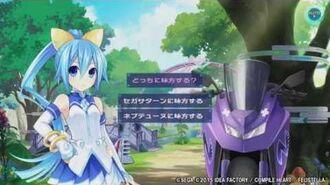 PS Vita「超次元大戦 ネプテューヌVSセガ・ハード・ガールズ 夢の合体スペシャル」 プレイムービー