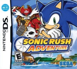 Sonic Rush Adventure cover
