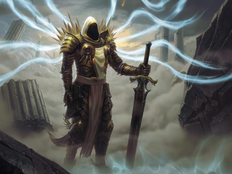 Diablo 3: The Acts #3 Archangel Tyrael by Holyknight3000 on DeviantArt