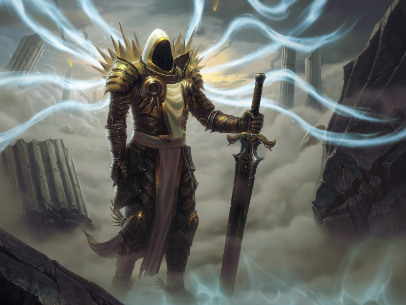 Diablo 3: The Acts #3 Archangel Tyrael by Holyknight3000 on DeviantArt