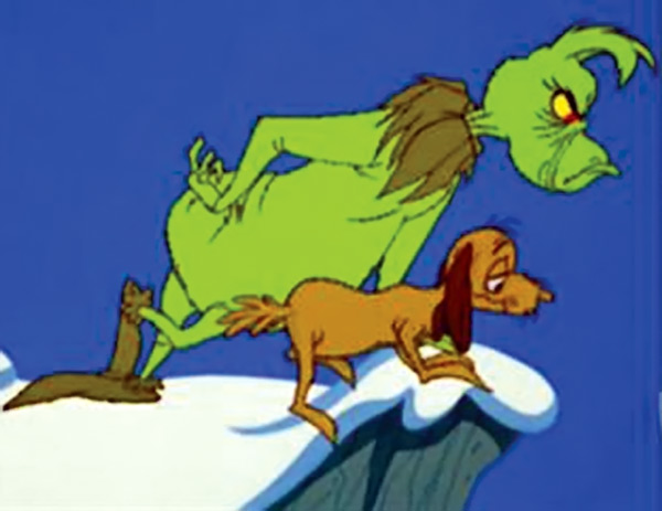 max the dog how the grinch stole christmas