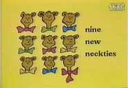 Nine new neckties
