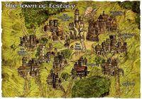 Mapa Ekstazy