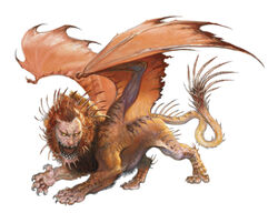 Monster Manual 5e - Manticore - p213.jpeg