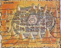 Mapa Żeber